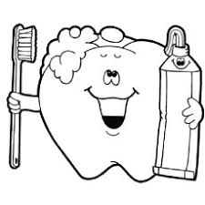 coloring pages of teeth. Perfect Pages Coloring Pages Of Happy Tooth Dental Inside Of Teeth MomJunction