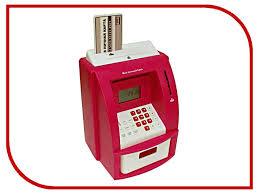 <b>Копилка для денег Эврика</b> Банкомат 91911 Red | Будильник ...