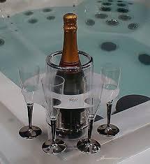 hot tub spa grip o bottle drinks glass holder boat camping picnic