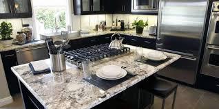 black and white granite countertops