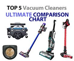 Vacuum Comparison Chart Best Vacuum Cleaner The Ultimate Guide Clean Smartly