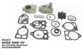 mercruiser pre alpha boat parts water pump kit mercruiser 1 pre alpha waterpump kit w housings for pre