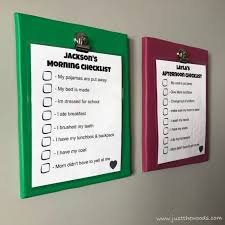 Make A Chore List How To Make A Printable Display For Kids Chore Charts