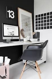 office chalkboard. black and white office with individual calendar day chalkboard decals