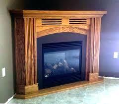 ventless fireplace insert corner gas unit ethanol