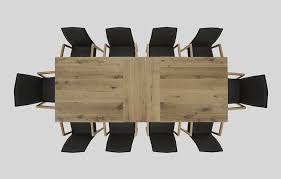 dinner table top view. beauty hartmann solid wood furniture extending dining table top view 3 || dinner d