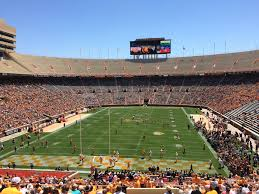 Neyland Stadium Seating Y7 View