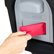 mailbox with mail indicator. Modren Mail Catalogs Simplay3 Classic Mailbox With Front And Rear Access Magnetic  Doors Includes A Unique Cherry Flag Mail Inside With Mail Indicator