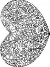 Mandala Hartjes Kleurplaten