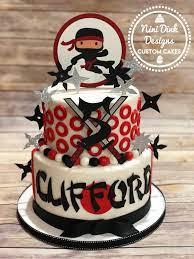 Ninja cake | Ninja birthday cake, Ninja birthday, Ninja birthday parties