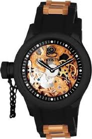 267 dial main left handed watches left handed invicta men s 1847 russian diver left handed mechanical skeleton dial