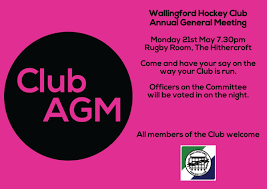 Club Agm Youre All Invited