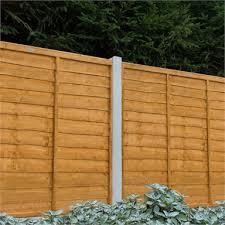 forest larchlap lap 1 8m fence panel