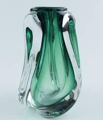 murano glass vase 1950s 1