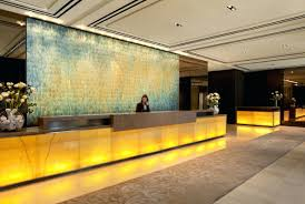 full image for bright setai fifth ave hotel reception torch oxidized copper tile mural setai