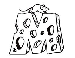 Small Picture Coloring Pages Animals Mouse Cheese Coloring Home