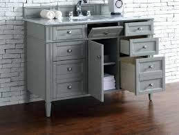 48 inch bathroom vanities image of contemporary inch single bathroom vanity gray finish no top with 48 inch bathroom vanities