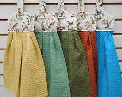 hanging towel. 735 Petite Hummingbirds Hanging Dish Towels For Hummingbird Lovers In Dijon, Light Green, Sage Towel T