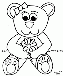 Small Picture Large Bear Head Outline Coloring Coloring Pages