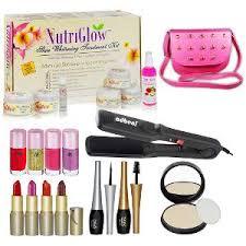 adbeni trend beauty makeup set nova hair straightener bo make up kits home18