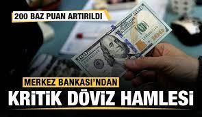 Merkez Bankası'ndan son dakika döviz kararı! - Ekonomi Haberleri