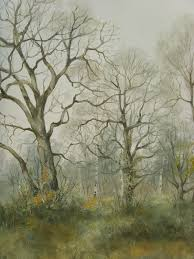 february landscape oil painting of trees 5 of 7
