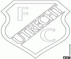 Omalovánky Fc Utrecht štít
