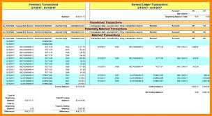 excel reconciliation template account reconciliation template excel general ledger account