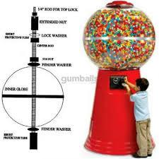 Candy Vending Machine Parts Classy Jumbo Giant Gumball Machine Parts