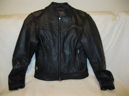 motorcycle jacket leather gear black coat first classics classic size s euc