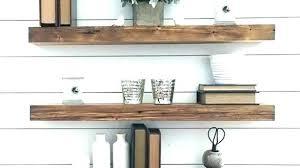 modern shelves hanging wall attractive walnut wood floating shelf reviews birch lane decor shower ideas she