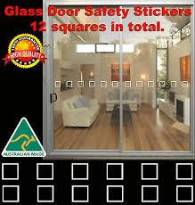 door hazard protection decals stickers