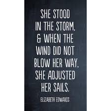 Quotes About Courage Awesome Storms R Unexpected Courage Isn't It's A Choice True Quotes