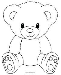 Teddy Bear With Heart Coloring Pages Teddy Bear Heart Teddy Bear