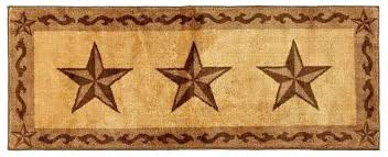 star area rugs western star area rugs chocolate bath kitchen runner rug barn star patch area star area rugs western