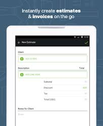 Contractor Estimate & Invoice - Apps On Google Play