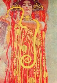 gustav klimt university of vienna ceiling paintings cine detail showing hygieia