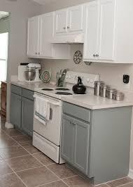 Rustoleum Kitchen Cabinet Two Tone Kitchen Cabinets Rustoleum Cabinet Transformation Kit