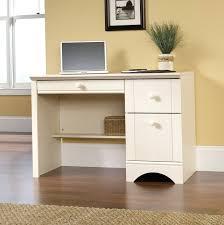 sauder harbor view desk sauder harbor view computer desk with hutch antiqued white desk