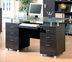 glass top office desk.  Glass Glass Top Office Desk Modern  Table India On