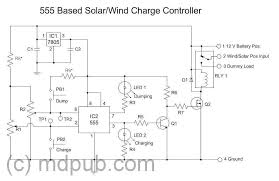 solar charge controller circuit diagram ireleast info a new solar wind charge controller based on the 555 chip wiring circuit