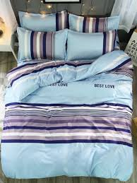 duvet cover set fashion simple striped soft durable home use practical home linens victorian bedding cotton bedding sets from hymen 80 98 dhgate com