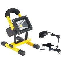 Portable Flood Lights Outdoor Bridgelux 10w Portable Sports Outdoor Lighting Rechargeable
