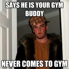 The 5 Worst Gym Partners - Gymonji via Relatably.com