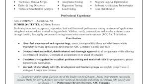 software testing resume samples senior software test engineer resume sample tester for fresher
