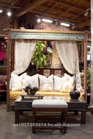 Indian Teak Canopy DayBed