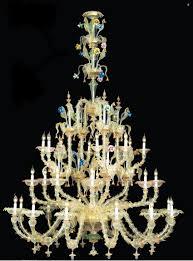 murano chandelier italy
