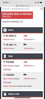 Minimum Rotor Thickness Mbworld Org Forums