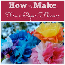 Flower Making With Crepe Paper Step By Step How To Make Tissue Paper Flowers Inner Child Fun