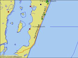 Kure Beach Tide Chart Map Of Kure Michelin Kure Map Viamichelin 1945 Original Us